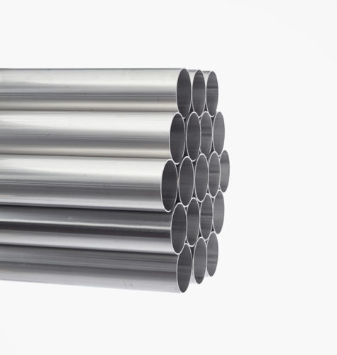 Welded seamless round tubes